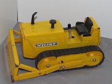 Nylint Bulldozer Pressed Steel Toy Rubber Tracks Adjustable Blade Rockford IL