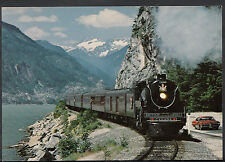 Railway Transport Postcard- The Iron Horse Train, Royal Hudson, Howe Sound A7878