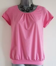 Size 8/10 Top TU Pink Stretch Casual Sports Great Condition Women's