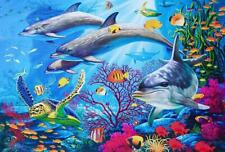 1000 Piece Jigsaw Puzzles Adult Kids Educational Puzzle Gift The Undersea World