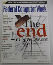 Federal Computer Week Magazine The End Of Government September 2000 071415R