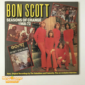 AC/DC, Bon Scott, Seasons of change, Raven Vinyl LP, Australian pressing, NM/NM