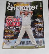 THE WISDEN CRICKETER MAGAZINE FEBRUARY 2008 VOLUME 5 NUMBER 5 - ON THE SLIDE