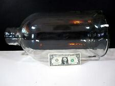 Vintage Wide Mouth Glass Demijohn Carboy Handblown