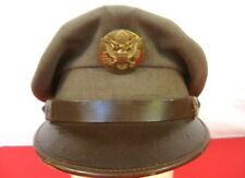 "WWII US Army Air Force AAF Enlisted  ""Crusher"" Cap or Hat Size 7 1/4 - Original"