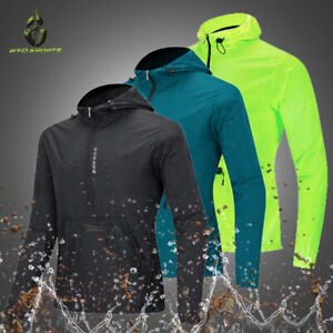 Mens Cycling Jacket Breathable Quick-dry Wind Coat MTB Bike Clothing Reflective