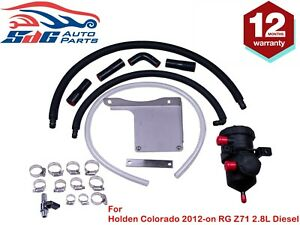 Pro Oil Catch Can Vent Kit for Holden Colorado 2012-on RG Z71 2.8L Diesel
