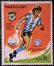Stamp Paraguay 1980 8Gs World Cup Winners 1978 Argentina Used