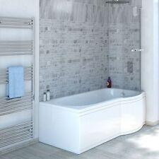11 Jet 1600 X 850mm Concept P Shaped Trojancast RH Shower Whirlpool | Bath