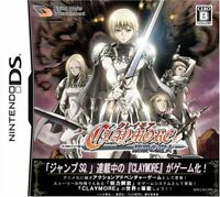 Nintendo DS CLAYMORE Japan NDS F/S