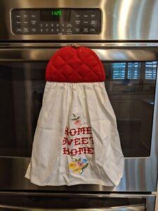 NEW~HANDMADE HANGING OVEN  DISHWASHER KITCHEN BATH HAND TOWEL~THE PIONEER WOMAN