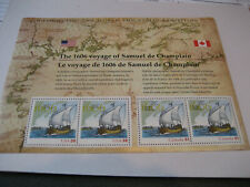 USA SHEET 2006 SCOTT #4074 39c SAMUEL de CHAMPLAIN SOUVENIR SHEET