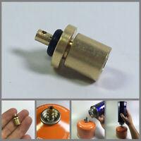 Butane Tank Connector Gas Refill Adapter Cylinder Coupler Pneumatic Valve