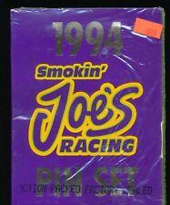1994 SMOKIN JOES RACE CAR PIN SET SEALED NASCAR STOCK CARD AUTO RACING GIFT IDEA