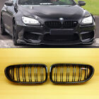 Gloss Black Front Grille Fit BMW F06 F12 F13 M6 Style 650i 640i 2012-2017