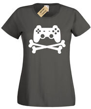 GAME CONTROLLER PAD T-Shirt funny Womens geek gamer ps4 xbox one pc retro