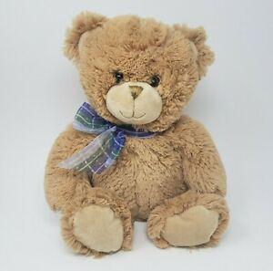 "16"" FIRST & MAIN # 1796 DEAN BROWN / TAN TEDDY BEAR STUFFED ANIMAL PLUSH TOY"