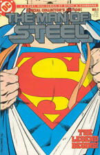 Man of Steel 1 Special Collectors Ed John Byrne Giordano Superman Origin 1986 VF