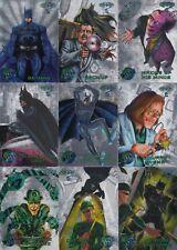 BATMAN FOREVER METAL 1995 FLEER LOT OF 52 SILVER FLASHER INSERT CARDS