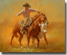 """When Push Turns to Shove"" Wayne Baize Limited Edition Giclee Canvas"