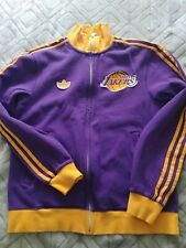 Vintage LA Los Angeles Lakers Full Zip Jacket Size Small