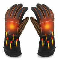 Electric Rechargeable Battery Heated Touchscreen Winter Hand Warm Gloves Outdoor