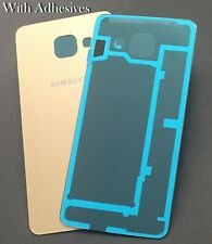 For Samsung Galaxy A3 2016 Back Battery Panel Cover Glass A310F Gold