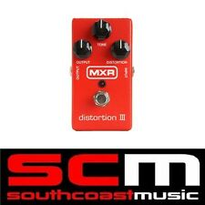 MXR DISTORTION III 3 ELECTRIC GUITAR EFFECTS FX PEDAL OVERDRIVE DISTORTION M115