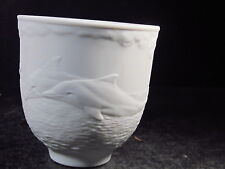 Lladro 1998 COLLECTOR'S SOCIETY CUP Dolphins