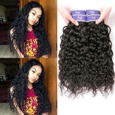 Cambodian Virgin Human Hair Weave Water Wave Weft Hair Extensions 3 Bundles Deal
