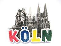 Köln Dom Magnet Schrift Cologne Poly Souvenir Germany (350)