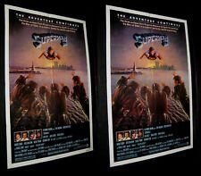 Original NSS & STUDIO STYLE N/M 27X41 SUPERMAN II Twin Towers CHRISTOPHER REEVE