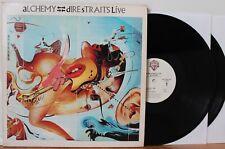 """Dire Straits 2xLP """"Alchemy"""" ~ Warner Bros 1-25085 ~ VG++"""