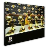 Los Angeles Lakers Kobe Bryant 16x20 Photo Poster Picture framed Canvas 5 Trophy