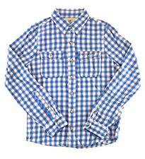 Hollister Mens Long Sleeve Plaid Woven Flannel Shirt Button Front
