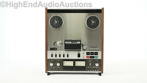 Teac A-6100 mk2 - Stereo Reel-to-Reel Tape Recorder Player - 2 Track - 4 Heads