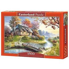 Puzzles orange en carton
