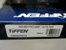 """New Tiffen 4x5.65"""" Pro-mist 1/4 Glass Filter 4x5.650 Filters 45650PM14"""