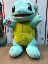 Build a Bear  WORKSHOP  POKEMON  SQUIRTLE with sound! NWT