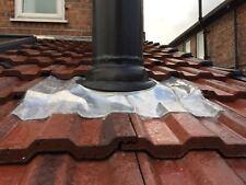 "5 inch 6"" 7 8 flue Flashing for tiled roof 110-200mm (02)"
