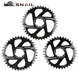 Snail GXP 3mm SRAM Direct Mount Narrow Wide Round Chainring 30/32/34/36/38/40T