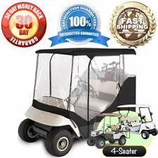 New Golf Cart 4 seat cover enclosure ezgo ez-go club car ds yamaha precedent
