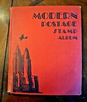 CatalinaStamps: Modern Postage Stamp Album, Scott 1937 w/550 Stamps, Lot D48