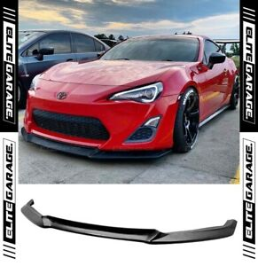 Fits Toyota 86 Pre-Facelift - Front Bumper Lip (CHARGESPEED STYLE) 12-16 CS FRS
