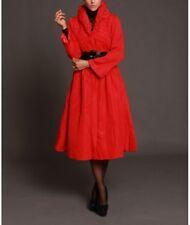 Jerry T Womens Red Coat Dress 1X 18 20 SR 3427 New Plus Size Long Coat Dress NWT