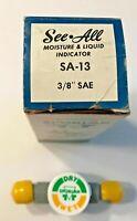 Sporlan, Refrigeration, See-All, Sight Glass, Moisture Liquid Indication, SA-13
