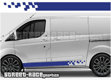 Ford Transit CUSTOM 019 racing stripes graphics stickers decals