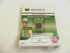 512MB Memory Stick ( MS ) Micro M2 Card mit zwei Adapter SONY Neu