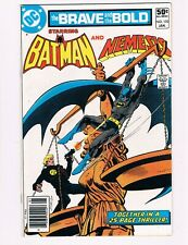 BRAVE AND THE BOLD #170  (1981 DC)  NEMESIS & BATMAN TEAM-UP
