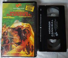 CANNIBAL aka HORROR CANNIBAL / PRE-CERT NASTY INTEREST / SECAM VHS / FRANCE